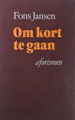 Om Kort Te Gaan Fons Jansen
